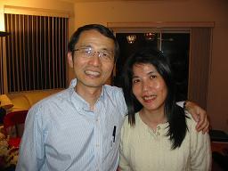 刘仁钦牧师夫妇