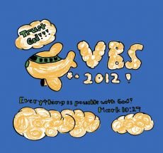 2012 VBS T-Shirt Designed by Kaitlin Shao
