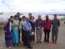 短宣隊參觀難民營
